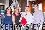 Julie Ring, Cullen celebrated her christening with her parents Tim and Catriona and god parents Julie and Gary Sheahan in the Killarney Oaks Hotel on Sunday 28th December