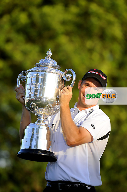 Padraig HARRINGTON (IRE) during fourth round US PGA, Oakland Hills, Detroit, Michigan, USA, 10th August 2008.