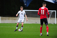 Cameron Evans of Swansea City u23s' in action during the Premier League 2 Division Two match between Swansea City u23s and Middlesbrough u23s at Swansea City AFC Training Academy  in Swansea, Wales, UK. Monday 13 January 2020.