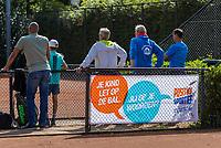 Hilversum, Netherlands, August 7, 2017, National Junior Championships, NJK, banner<br /> Photo: Tennisimages/Henk Koster