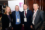 Niamh O&quot;Shea, Killanrey Park Hotel, Derry Cronin, ITOA,  Graham Fitzgerald, Dingle Skellig Hotel and Mike O'Shaughnessy, Wallace Travel pictured at the National Tourism Forum in The Muckross Park Hotel, Killarney at the weekend. <br /> Over 200 delegates from all over Ireland attend the inaugural event which was addressed by national and international speakers.<br /> Photo: Don MacMonagle<br /> <br /> Repro free photo