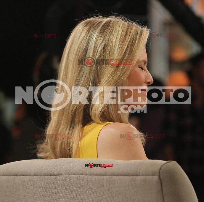 June 20, 2012 Michelle Pfeiffer at Good Morning America in New York City to talk about her new movie 'People Like Us'. &copy; RW/MediaPunch Inc. NORTEPHOTO<br /> **SOLO*VENTA*EN*MEXICO**<br /> **CREDITO*OBLIGATORIO** <br /> *No*Venta*A*Terceros*