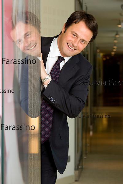 Segrate 2010, sede Microsoft Italia. Pietro Scott Jovane amministratore delegato. Segrate 2010 Microsoft Italia office. Pietro Scott Jovane, managind director