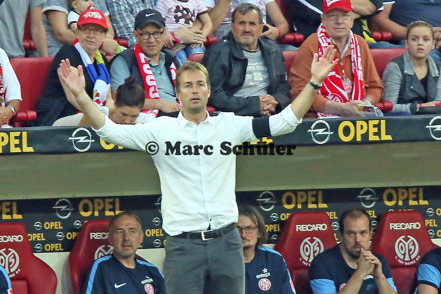 Trainer Kaspar Hjulmand (Mainz) - 1. FSV Mainz 05 vs. Borussia Dortmund, Coface Arena