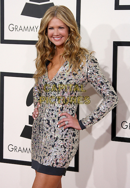 LOS ANGELES, CA - JANUARY 26 - Nancy O'Dell. 56th GRAMMY Awards held at the Staples Center. <br /> CAP/ADM<br /> &copy;AdMedia/Capital Pictures