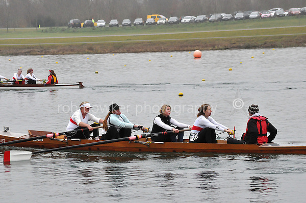 150 PooleARC CoastalWNov4+..Marlow Regatta Committee Thames Valley Trial Head. 1900m at Dorney Lake/Eton College Rowing Centre, Dorney, Buckinghamshire. Sunday 29 January 2012. Run over three divisions.