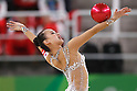 Son Yeon Jae (KOR), <br /> AUGUST 19, 2016 - Rhythmic Gymnastics : <br /> Individual All-Around Final  <br /> at Rio Olympic Arena <br /> during the Rio 2016 Olympic Games in Rio de Janeiro, Brazil. <br /> (Photo by Sho Tamura/AFLO SPORT)