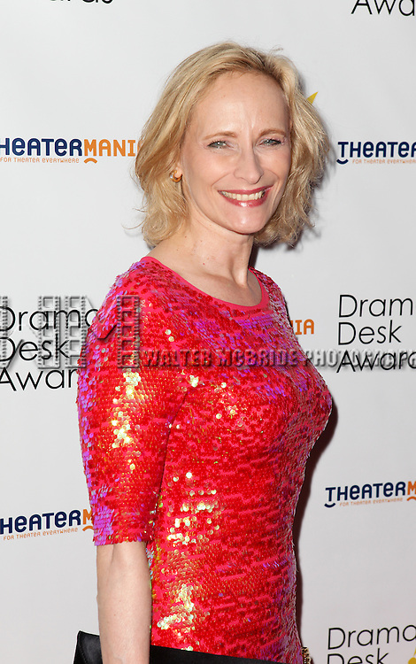 Laila Robins pictured at the 57th Annual Drama Desk Awards held at the The Town Hall in New York City, NY on June 3, 2012. © Walter McBride