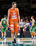 S&ouml;dert&auml;lje 2015-10-20 Basket Basketligan S&ouml;dert&auml;lje Kings - Bor&aring;s Basket :  <br /> Bor&aring;s Mike Palm deppar under matchen mellan S&ouml;dert&auml;lje Kings och Bor&aring;s Basket <br /> (Foto: Kenta J&ouml;nsson) Nyckelord:  S&ouml;dert&auml;lje Kings SBBK T&auml;ljehallen Bor&aring;s Basket depp besviken besvikelse sorg ledsen deppig nedst&auml;md uppgiven sad disappointment disappointed dejected