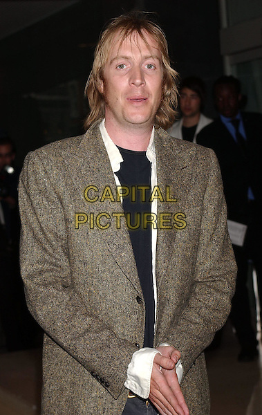 RHYS IFANS.Attends An Evening At The Sanderson Party, London..3rd June 2003.half length, half-length.www.capitalpictures.com.sales@capitalpictures.com.Supplied By Capital Pictures