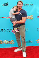 UNIVERSAL CITY, CA, USA - SEPTEMBER 21: Ian Ziering at the Los Angeles Premiere Of Focus Features' 'The Boxtrolls' held at Universal CityWalk on September 21, 2014 in Universal City, California, United States. (Photo by Celebrity Monitor)