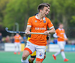 BLOEMENDAAL - Yannick van der Drift (Bldaal)    tijdens de hoofdklasse competitiewedstrijd hockey heren,  Bloemendaal-Den Bosch (2-1) COPYRIGHT KOEN SUYK