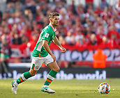 June 11th 2017, Dublin, Republic Ireland; 2018 World Cup qualifier, Republic of Ireland versus Austria; Wes Hoolahan on the ball for Republic of Ireland