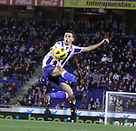 2011 Spain, La Liga , Rcd Espanyol and Villareal batle for champions leage places at Cornella Stadium.  Picture show Datolo..