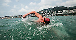 Swimmers in action during The Clean Half Open Water Challenge 2012 in Hong Kong on 6 October 2012. Photo by Juan Manuel Serrano / The Power of Sport Images