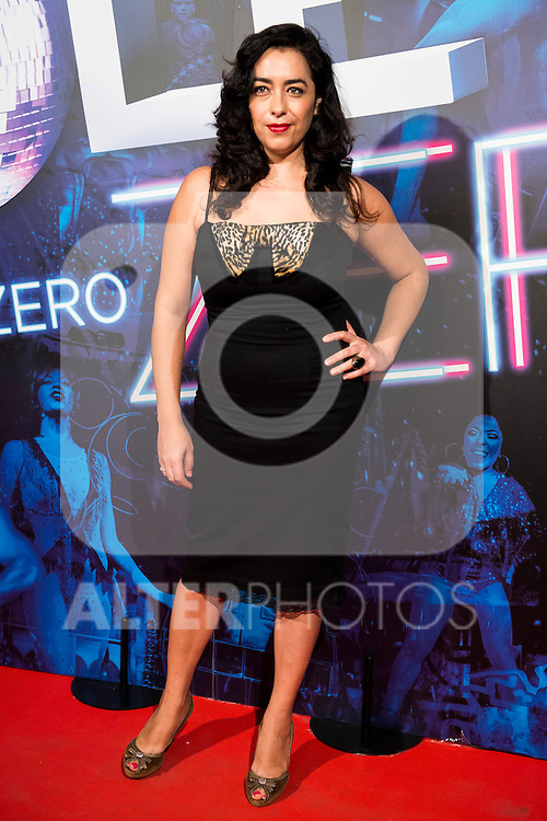 Maria Isasi attends to the premiere of the The Hole Zero Show at Teatro Calderon in Madrid. October 04, 2016. (ALTERPHOTOS/Borja B.Hojas)