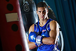 Pix: Shaun Flannery/shaunflanneryphotography.com...COPYRIGHT PICTURE>>SHAUN FLANNERY>01302-570814>>07778315553>>..16th September 2010...........GB Boxing. English Institute of Sport (EIS) Sheffield..Commenwealth Games boxers train at the Sheffield facility..Anthony Ogogo