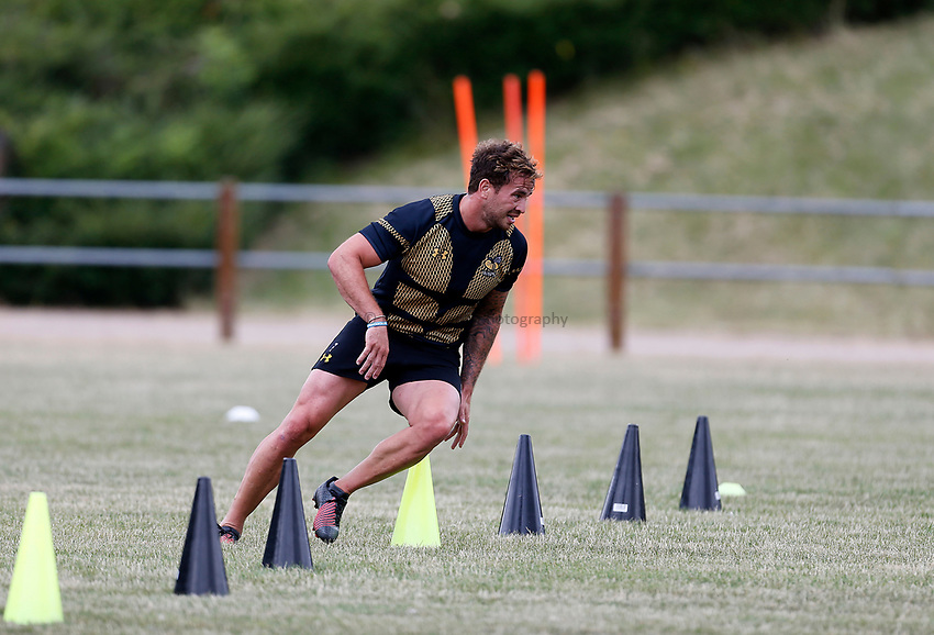 Photo: Richard Lane Photography. Wasps Training. 10/07/2017. Wasps' Danny Cipriani.