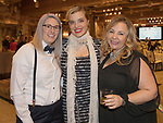 A photograph taken during the Step 2 Jingle & Mingle held at the Whitney Peak Hotel on Friday night, December 1, 2017.