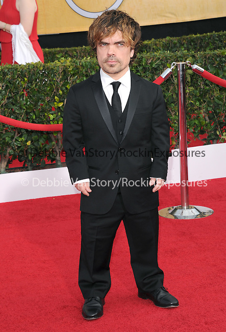 Peter Dinklage attends The 20th SAG Awards held at The Shrine Auditorium in Los Angeles, California on January 18,2014                                                                               © 2014 Hollywood Press Agency