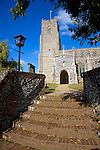 Church of the Holy Trinity, Blythburgh,  Suffolk, England one of the oldest christian sites in East Angld