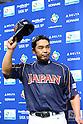 Shinnosuke Abe (JPN), .MARCH 2, 2013 - WBC : .2013 World Baseball Classic .1st Round Pool A .between Japan 5-3 Brazil .at Yafuoku Dome, Fukuoka, Japan. .(Photo by YUTAKA/AFLO SPORT) [1040]
