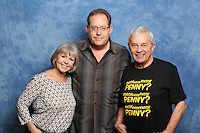 Wendy Padbury and Frazer Hines
