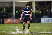 Nathan Catt of Bath Rugby. Anglo-Welsh Cup Semi Final, between Bath Rugby and Northampton Saints on March 9, 2018 at the Recreation Ground in Bath, England. Photo by: Patrick Khachfe / Onside Images
