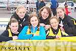 ROWING: Gals from Muckross rowing club who competed at the regatta in Killorglin on Saturday l-r: Aoife Cooper, Katherine Cremin, Marie Magnier, Alison Shaw, Jenny McCarthy and Shona O'Sullivan.   Copyright Kerry's Eye 2008