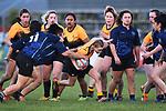 NELSON, NEW ZEALAND - Girls Under 18 Rugby - Motueka High School v Nelson Girls College. Sport Park, Motueka, New Zealand. Wednesday 22 July 2020. (Photo by Chris Symes/Shuttersport Limited)