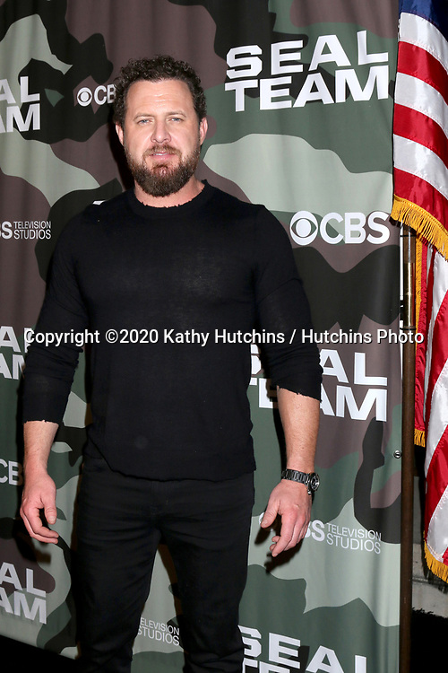 "LOS ANGELES - FEB 25:  AJ Buckley at the ""Seal Team"" Screening at the ArcLight Hollywood on February 25, 2020 in Los Angeles, CA"