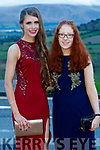 Sheanna Allman Moriarty and Ruth O'Connell, Presentation Secondary School, Tralee, pictured at the TY Ball, at Ballyroe Heights Hotel, Tralee, on Saturday night last.