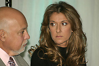 CELINE DION AND RENE ANGELIL UNVEIL THE<br />                RESULTS OF THE GROWING UP HEALTHY CAMPAIGN AND PREPARE FOR THE<br />                START OF CONSTRUCTION<br />  of Sainte-Justine UHC Hospital<br /> Photo : (c) 2005 Jean-Philippe Proulx
