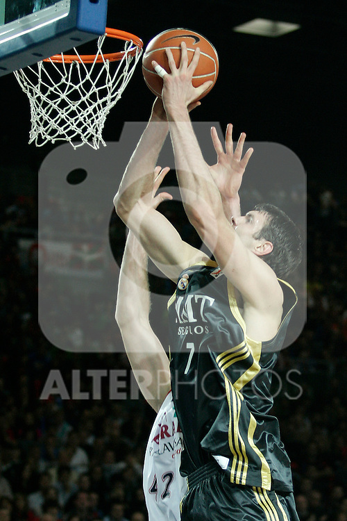 Real Madrid's Darjus Lavrinovic during Spanish Basketball King's Cup match.(ALTERPHOTOS/Acero)