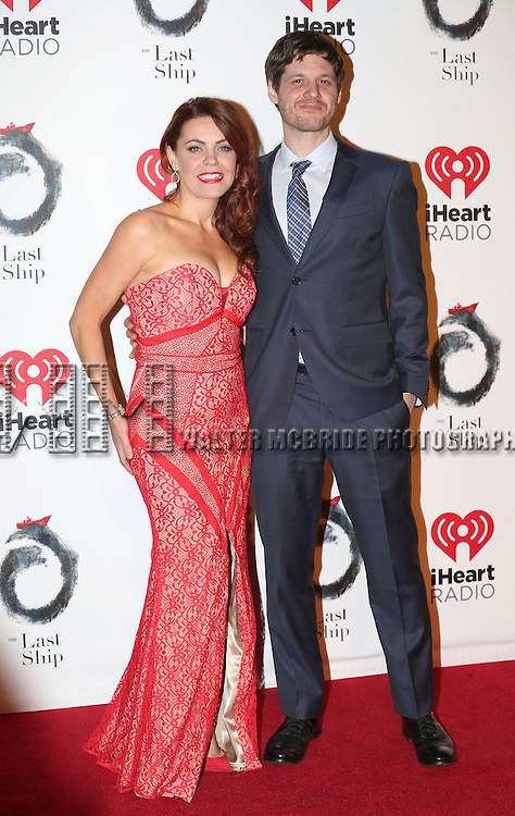 Rachel Tucker and Michael Esper attends the Broadway Opening Night After Party for 'The Last Ship' at Pier 60 on October 26, 2014 in New York City.