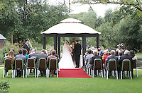A wedding on the banks of the River Cam.Cambridge, U.K - A variety of scenes at the historic university city of Cambridge, England -  September 2nd 2012..Photo by Keith Mayhew