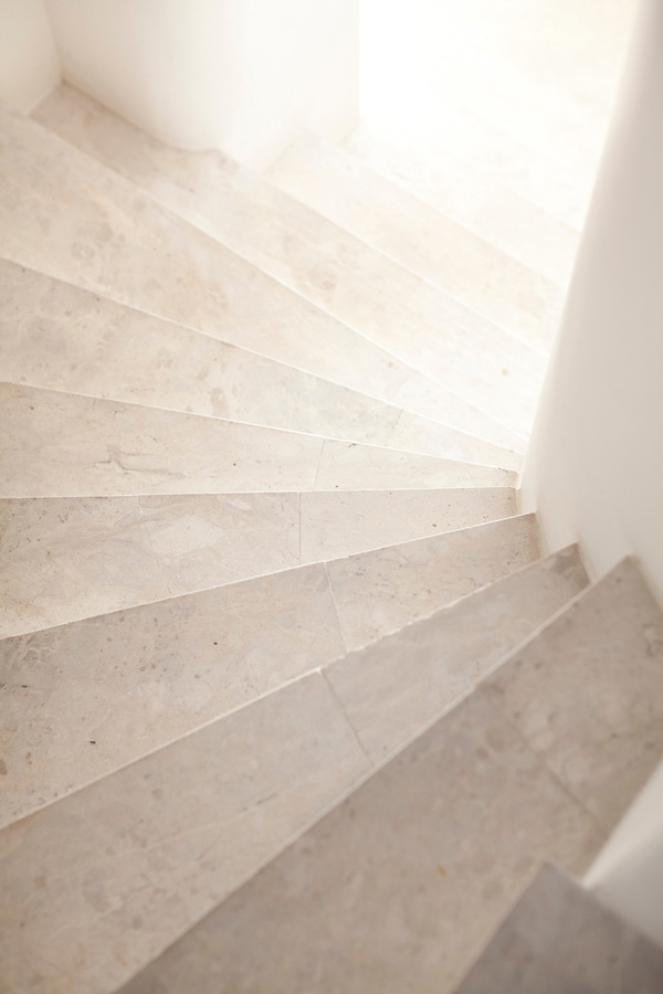 Marble stairs at Casa Brancas Boutique Hotel and Spa.
