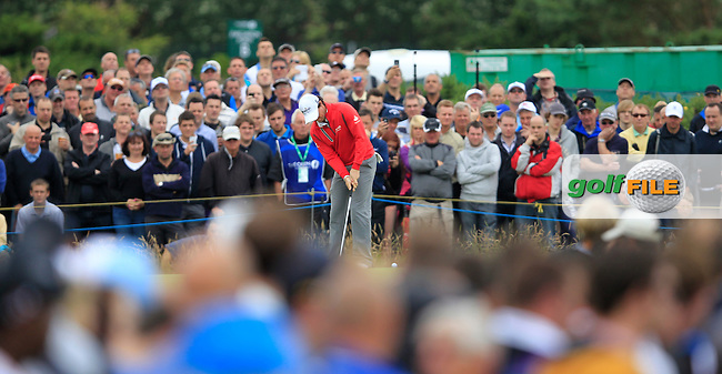 Rory McIlroy (NIR) putts on the 11th green during Friday's Round 2 of the 141st Open Championship at Royal Lytham & St.Annes, England 20th July 2012 (Photo Eoin Clarke/www.golffile.ie)