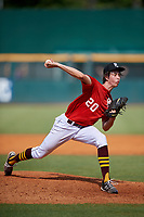Eric Hammond (20) of Keller High School in Keller, TX during the Perfect Game National Showcase at Hoover Metropolitan Stadium on June 20, 2020 in Hoover, Alabama. (Mike Janes/Four Seam Images)