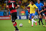 Willian (BRA),<br /> JULY 8, 2014 - Football / Soccer : FIFA World Cup 2014 semi-finals match between Brazil 1-7 Germany at Mineirao stadium in Belo Horizonte, Brazil.<br /> (Photo by FAR EAST PRESS/AFLO)