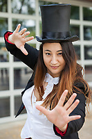 Female Magician, Renton City Comicon 2017, Washington, USA.