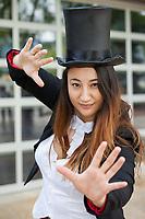 Female Magician, Renton City Comicon 2017, Washington, USA.