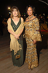 Andrea White with Kimberly Nichols at the Discovery Green Gala at Discovery Green Park downtown Saturday Feb. 23,2008.(Dave Rossman/For the Chronicle)
