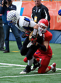 NY State Football Class C Final featuring the Hornell Red Raiders of Section V against the Hoosick Falls Panthers of Section II at the Carrier Dome on November 24, 2012 in Syracuse, New York. Hoosick Falls defeated Hornell 34-21. (Copyright Mike Janes Photography 2012)