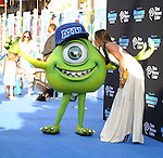 "Alessandra Ambrosio at the World Premiere of  ""Monsters University"" at the El Capitan Theatre in Los Angeles on June 17, 2013"