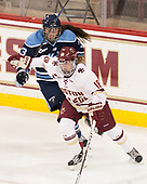 Brooke Stacey (Maine - 3), Toni Ann Miano (BC - 18) - The Boston College Eagles defeated the visiting University of Maine Black Bears 2-1 on Saturday, October 8, 2016, at Kelley Rink in Conte Forum in Chestnut Hill, Massachusetts.  The University of North Dakota Fighting Hawks celebrate their 2016 D1 national championship win on Saturday, April 9, 2016, at Amalie Arena in Tampa, Florida.