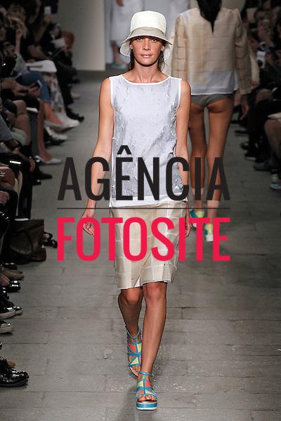 Milao, It&aacute;lia &sbquo;09/2014 - Desfile de Cividini durante a Semana de moda de Milao  -  Verao 2015. <br /> <br /> Foto: FOTOSITE
