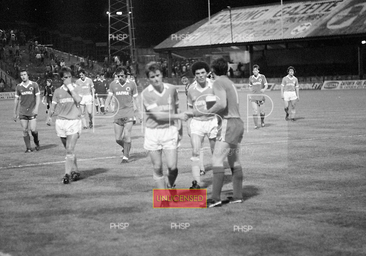 03/09/1980 Blackpool v Everton  League Cup 2nd Round 2nd Leg .....© Phill Heywood.