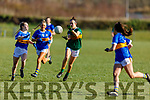 Action from Kerry v Tipperary in R1 of the MLGFA Minor A Football Championship in John Mitchels GAA Complex on Sunday