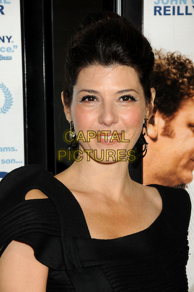 "MARISA TOMEI.""Cyrus"" Gala Screening at the 2010 Los Angeles Film Festival held at Regal Cinemas LA Live, Los Angeles, California, USA, 18th June 2010..portrait headshot  black cut out shoulder hair up dangly earrings .CAP/ADM/BP.©Byron Purvis/AdMedia/Capital Pictures."